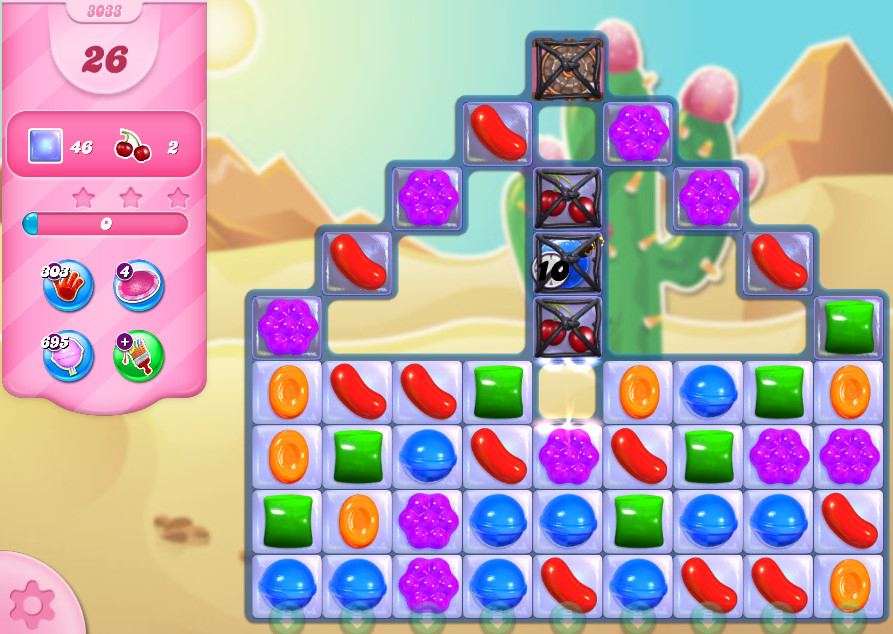 Candy Crush Saga level 3033
