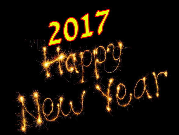 Happy New Year Facebook Cover Images 2017