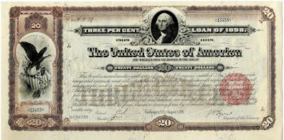 American loan of 1898 for financing the Spanish American war