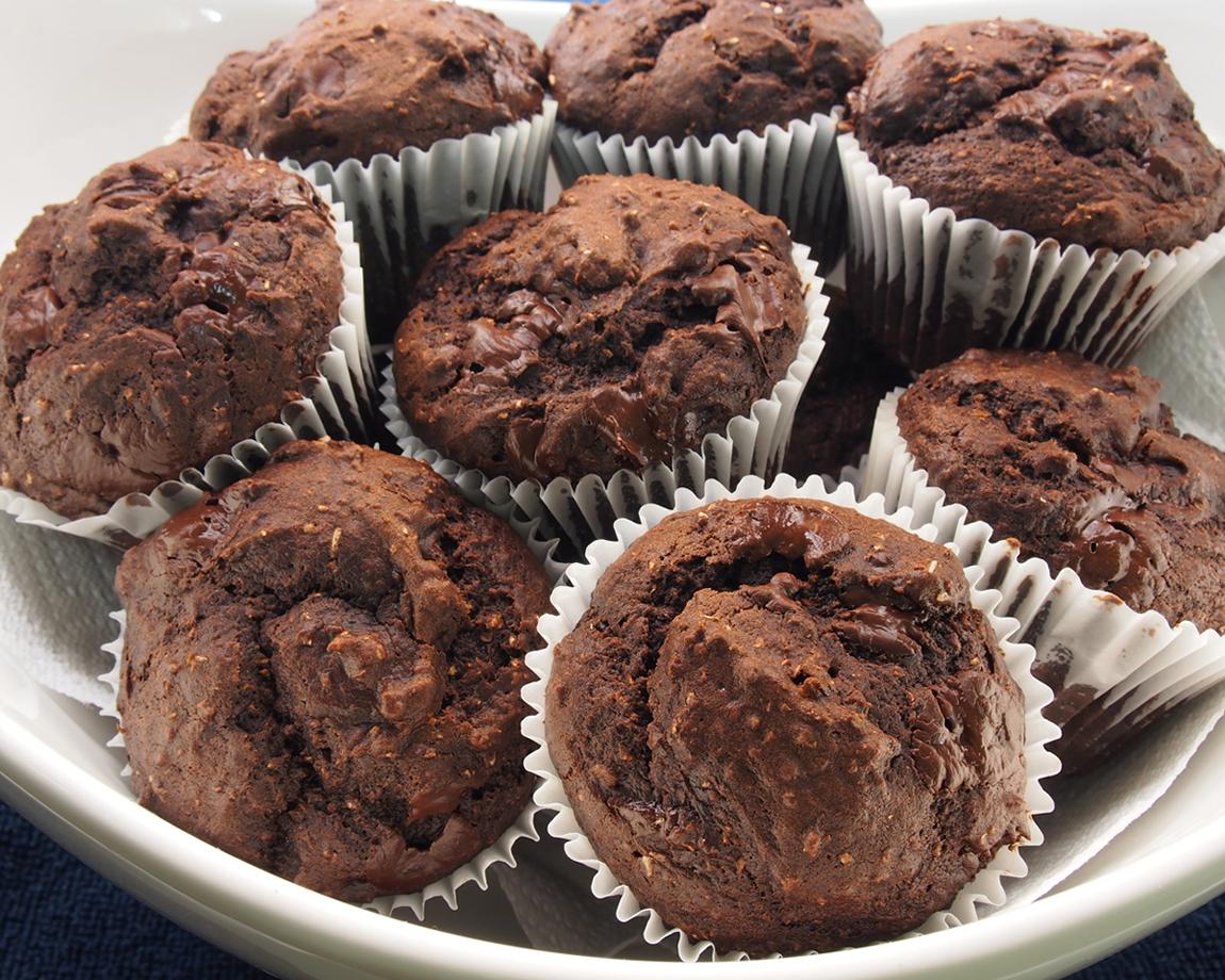 idee recette dessert rapide et facile muffins banane et cacao blogs de cuisine