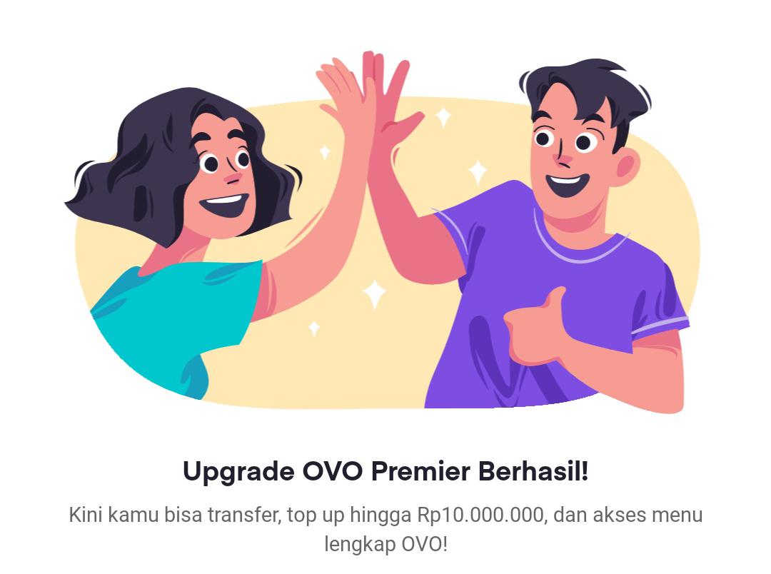 Upgrade Akun OVO Premier