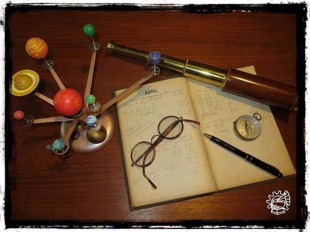 Steampunk fr u voir le sujet réalisation le bureau de l