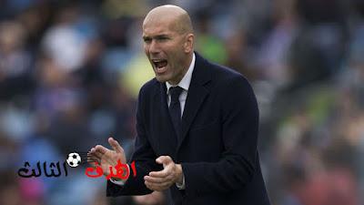 الهدف الثالث.... زيدان مديرًا فنيًا لريال مدريد حتى 3 سنوات