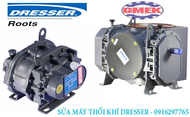 máy thổi khí Howden Roots, sửa máy thổi khí Dresser roots, bảo dưỡng máy thổi khí Dresser