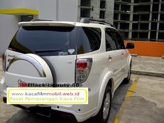Kaca film mobil Toyota Rush TRD 3M