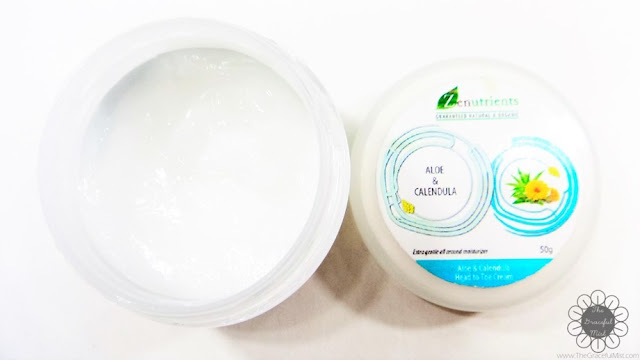 Zenutrients Philippines | Guaranteed Natural & Organic: Aloe & Calendula Head to Toe Cream (Review at www.TheGracefulMist.com)