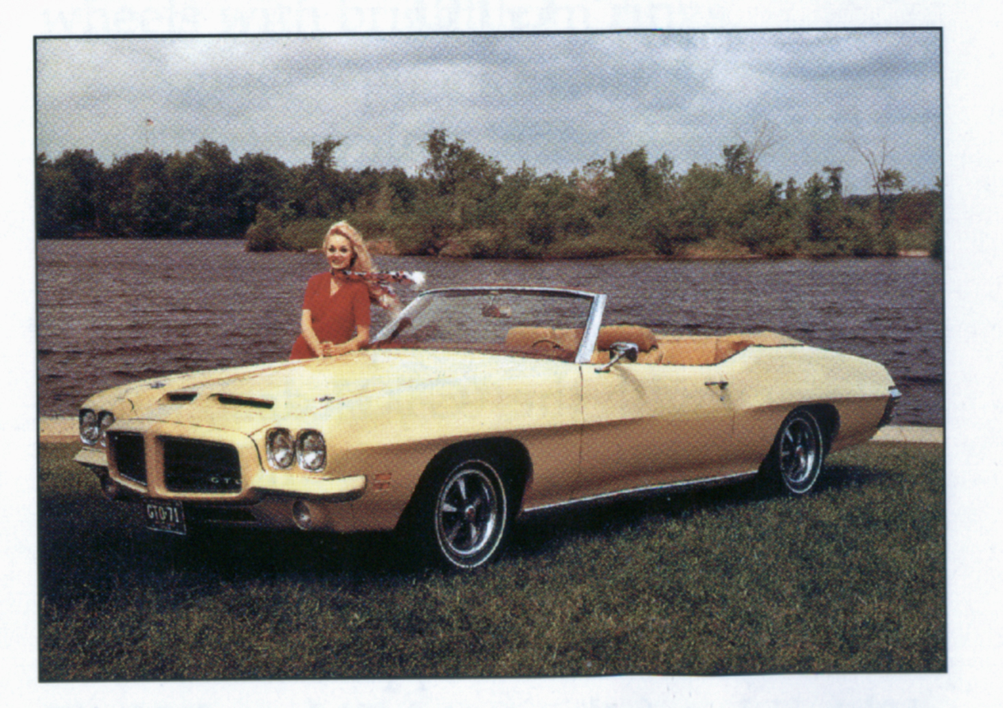 hight resolution of a 1972 gto convertible has been a popular urban legend for decades due to a simple typo in an early pre 1975 pontiac motor division report