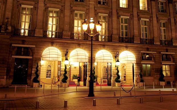 Exterior of Ritz Paris