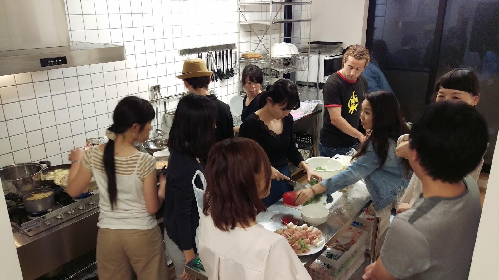 Ludovic au japon for Cuisine entre copains
