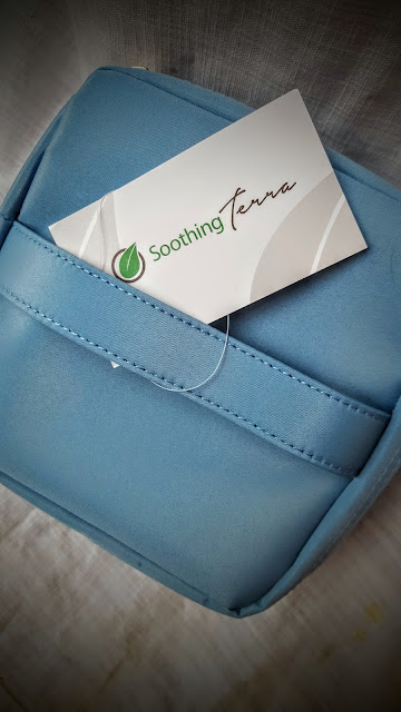 soothing terra essential oil carrying case