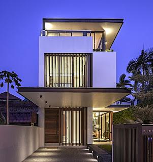 contoh gambar rumah minimalis 2 lantai modern - rumah interior lampung