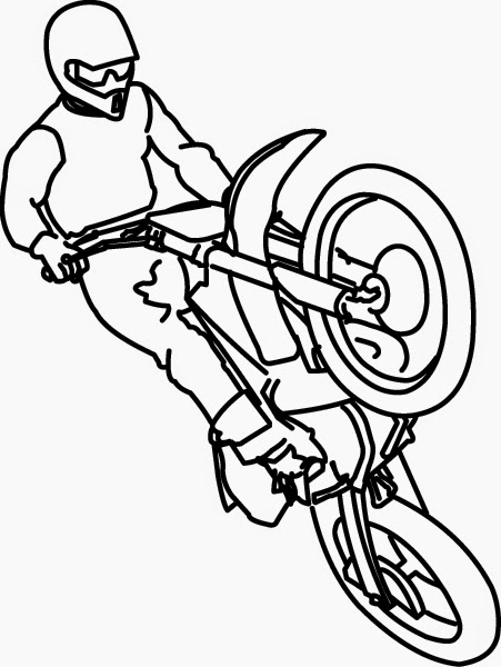 Coloring Pages Motorcycle Coloring Pages Free And Printable
