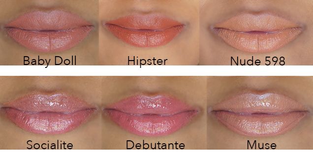 IMAN Cosmetics Luxury Moisturizing Lipstick and Luxury Lip Shimmer,