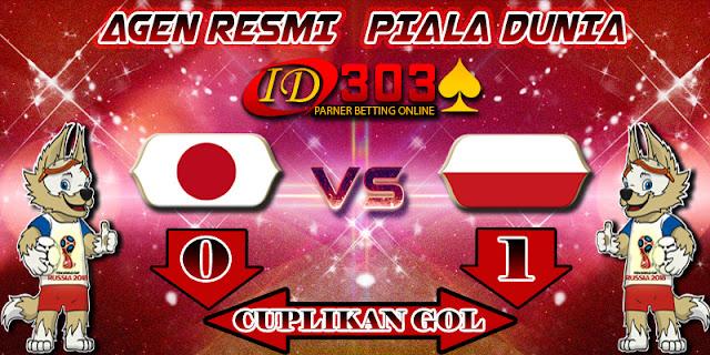CUPLIKAN GOL JAPAN 0 - 1 POLAND