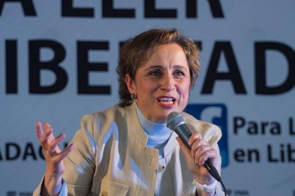 Carmen Aristegui propone que diputados ganen el salario mínimo. ¿Yo estoy de acuerdo y tu?