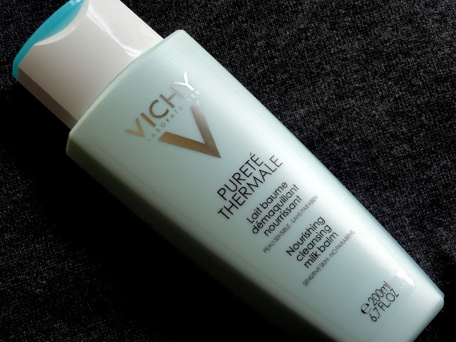 Vichy Purete Thermal Nourishing Cleansing Milk Balm
