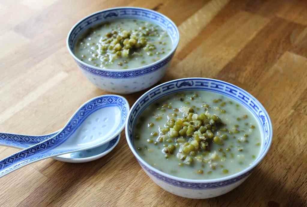 How To Make Mung Beans Porridge Bubur Kacang Hijau Food Recipe