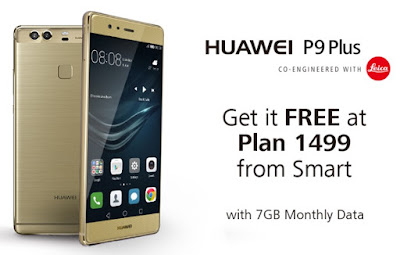 Huawei P9 Plus Free At Smart Plan 1499