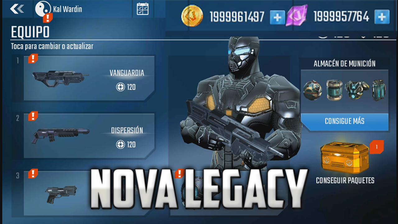 Hack Nova Legacy v3.0.9 APK MOD [Dinero infinito] [Mediafire]