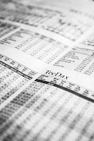 Zahlen der Aktien