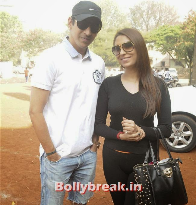 Anand and Pooja Misra, Pooja Misra at Femina Marathon-Run to Save The Girl Child