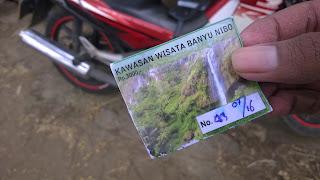 Banyu nibo Wonogiri Jawa Tengah