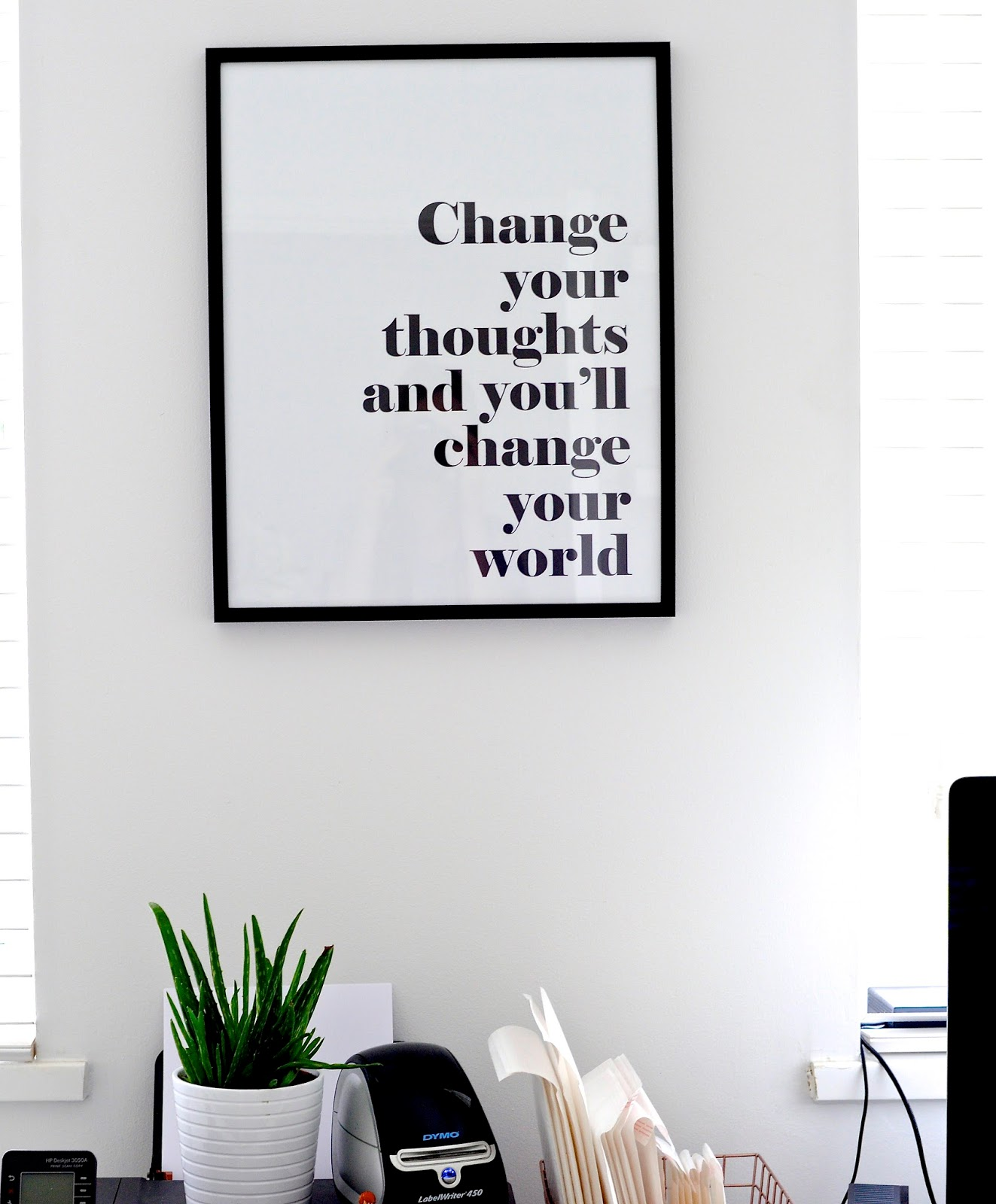 quote prints, scandi style prints, modern prints and frames