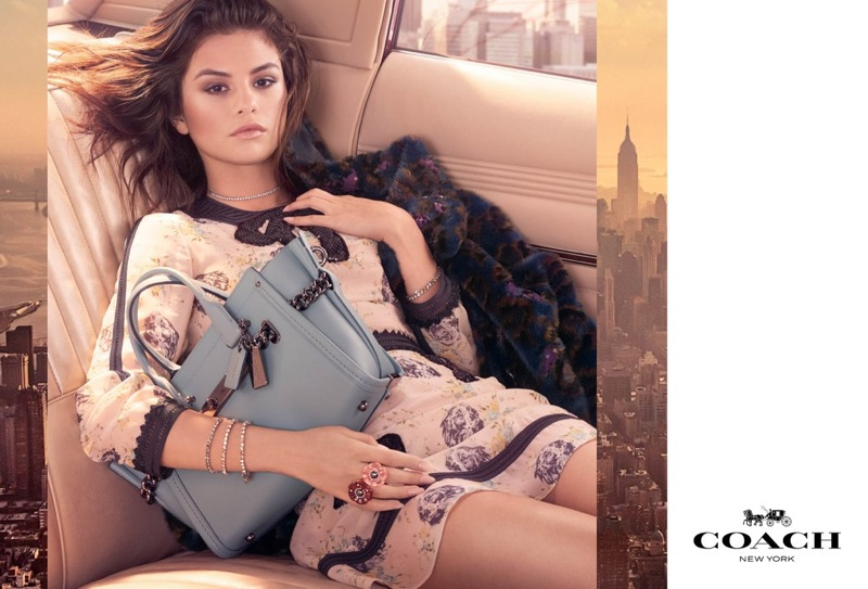 Selena Gomez stars in the Coach Fall/Winter 2017 Campaign