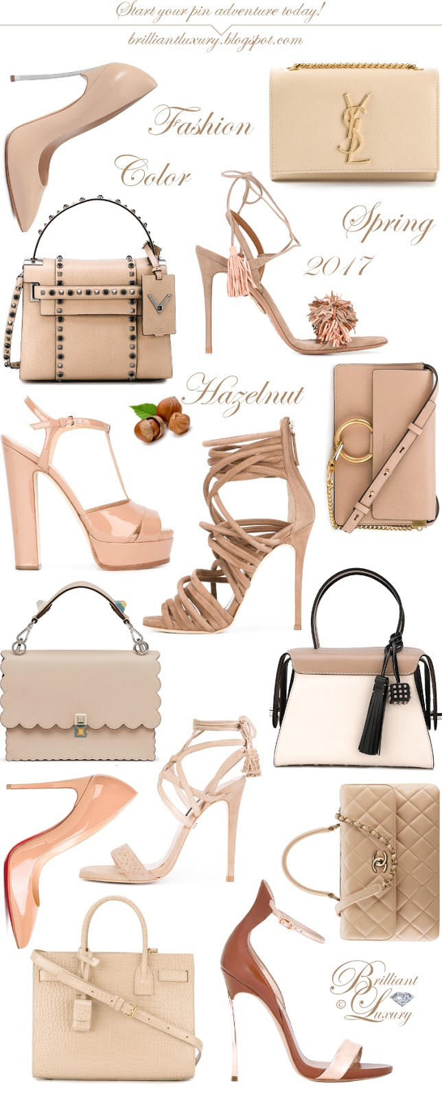 Brilliant Luxury ♦ Fashion Color Spring 2017 ~ hazelnut