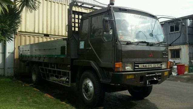 gambar truk fuso mitsubishi 190 ps bak panjang