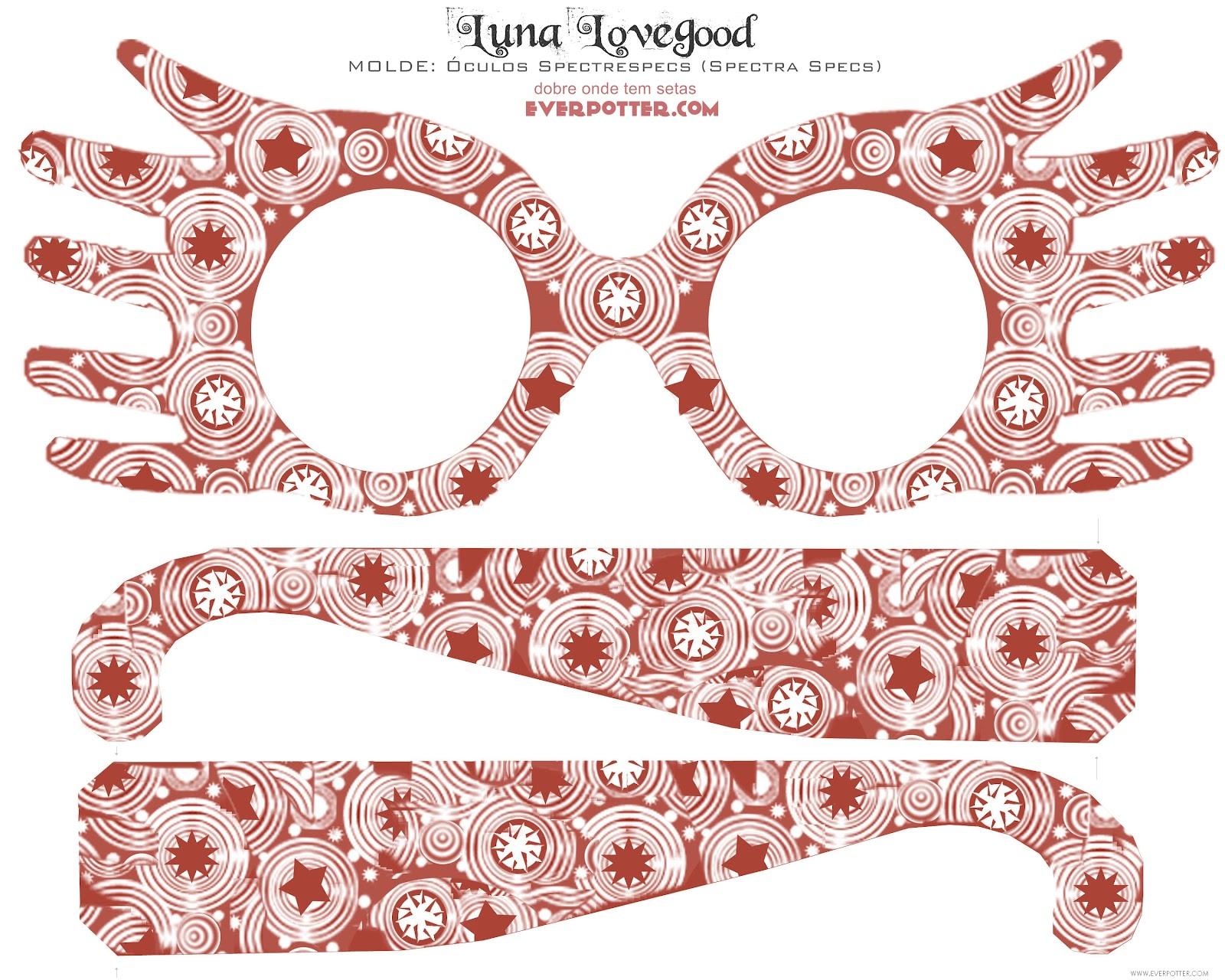 D.I.Y - Óculos da Luna Lovegood FUNCIONA ϟ | Spectrespecs ...