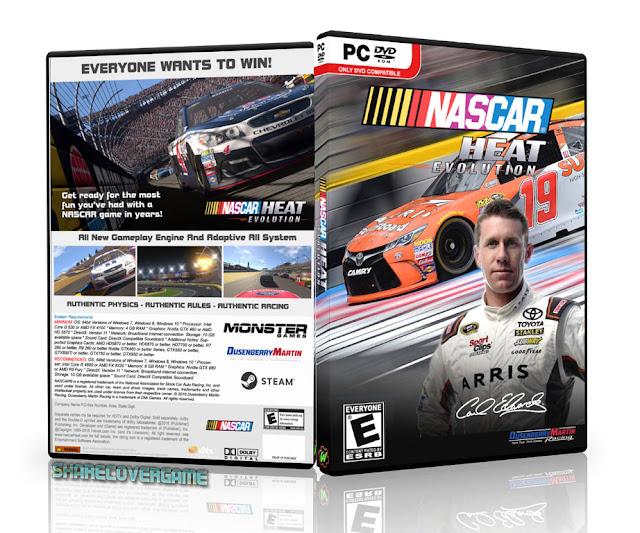 NASCAR Heat Evolution Cover Box
