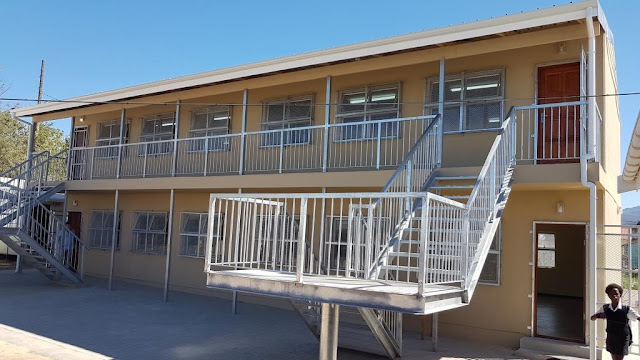 Double Storey Classrooms - Western Cape Education Department