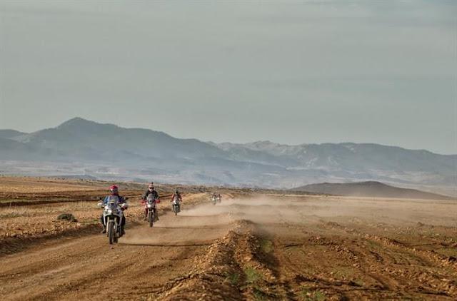 africa twin aventura honda marrocos