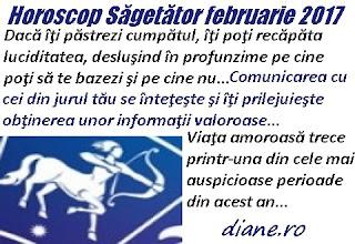 Horoscop februarie 2017 Săgetător
