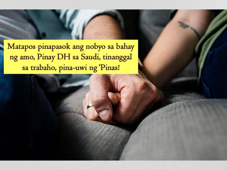When working in another country, one important thing OFW should always remember is to follow the rules to avoid fines, imprisonment or deportation.  An Overseas Filipino Workers (OFW) in Saudi Arabia can still be considered lucky after her employer just sent her back to the Philippines and did not file a case against her.  This is after the said OFW let her boyfriend enter the house of her employer which is against the law. According to the recruitment agency of unnamed OFW, the employer who hired the domestic helper forgot something in their home while on their way to work.  The employer decided to return home and to her surprise, there's a stranger in their living room. The man happens to be the lover of her Filipina housemaid who let her enter while the employer was away.   The Filipina was arrested because of that incident but can be considered lucky because her employer just only sent her away and did not pursue a case against her that may lead to her imprisonment.   Because of the incident, Labor Attache Nasser Munder reminded OFWs to respect the country's culture and the family they are working to avoid facing legal problems.