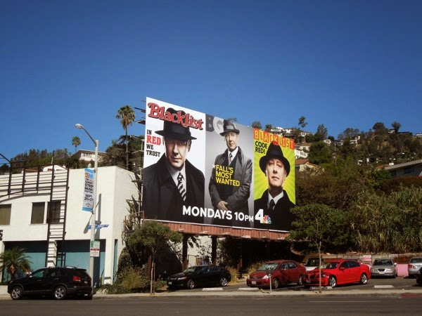 The Blacklist season 2 billboard