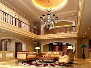 Dekorasi Ruang Tamu Mewah