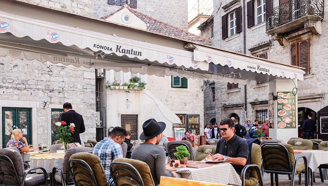 konoba kantun @ kotor, montenegro