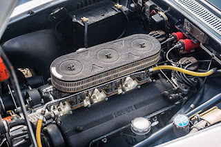 1960 Ferrari 250 GT Coupe Car Engine 02