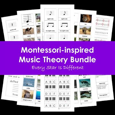 Montessori-inspired Music Theory Bundle
