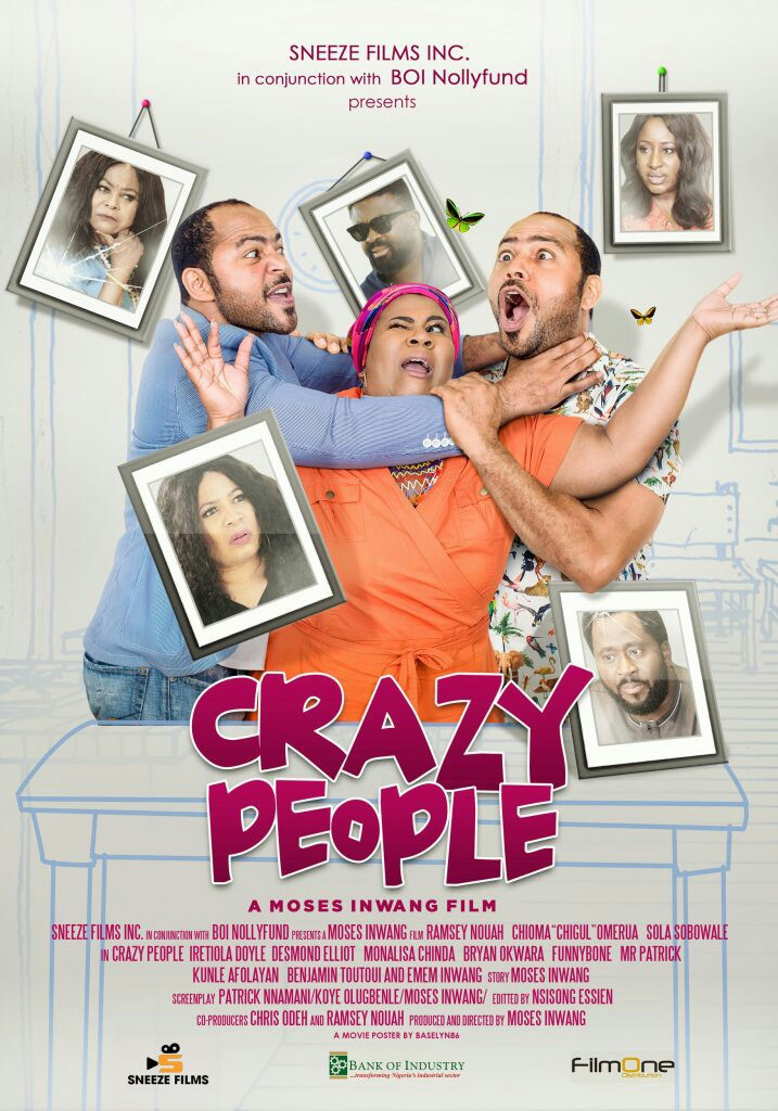 Crazy People (Theatrical Poster)