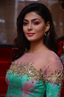 Anisha Ambrose sizzles in cute Green Anarkali Dress at Fashion TV F Club Saloon Launch ~  Exclusive 018.JPG