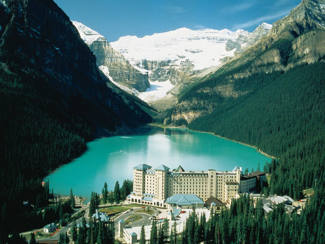 Lake Louise Canada Most Beautiful Lakes in the World Adventure Travel