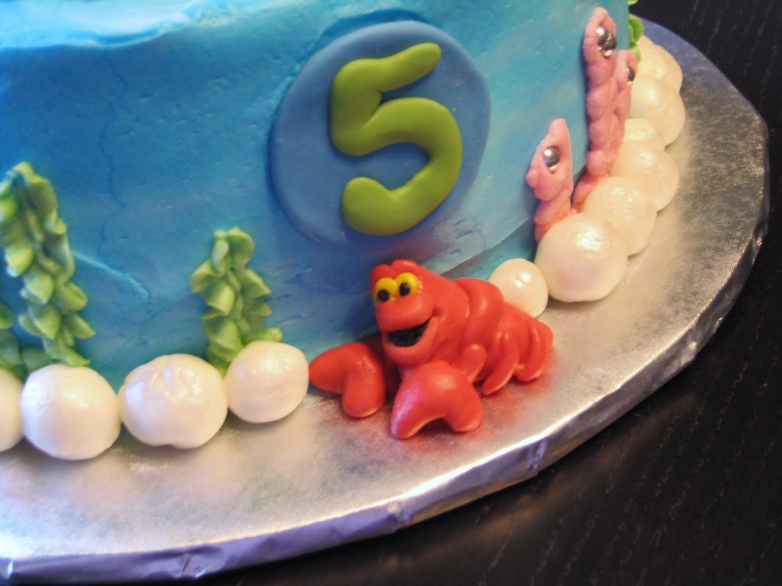 Ariel Edible Cake Topper