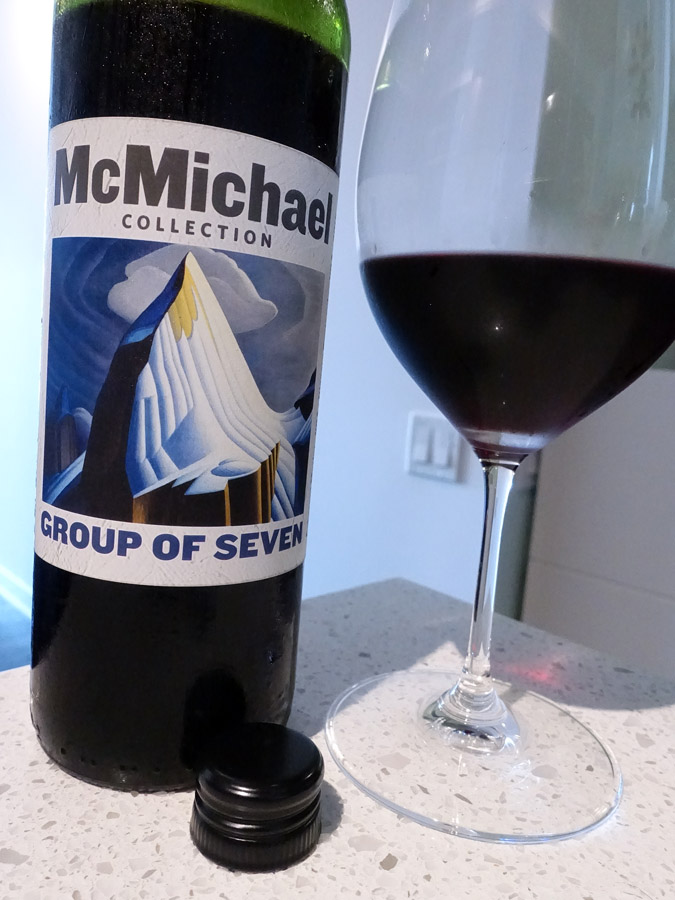 McMichael Collection Group of Seven Cabernet Merlot 2015 (86 pts)