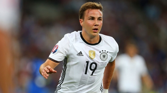 Mario Gotze has returned to his former club Borussia Dortmund