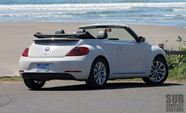 2013 Volkswagen Beetle Convertible rear shot