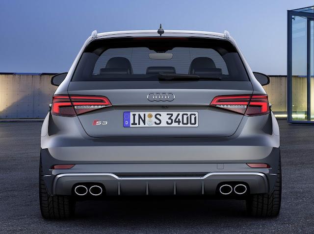 Novo Audi S3 Sportback 2017: fotos e informações - facelift