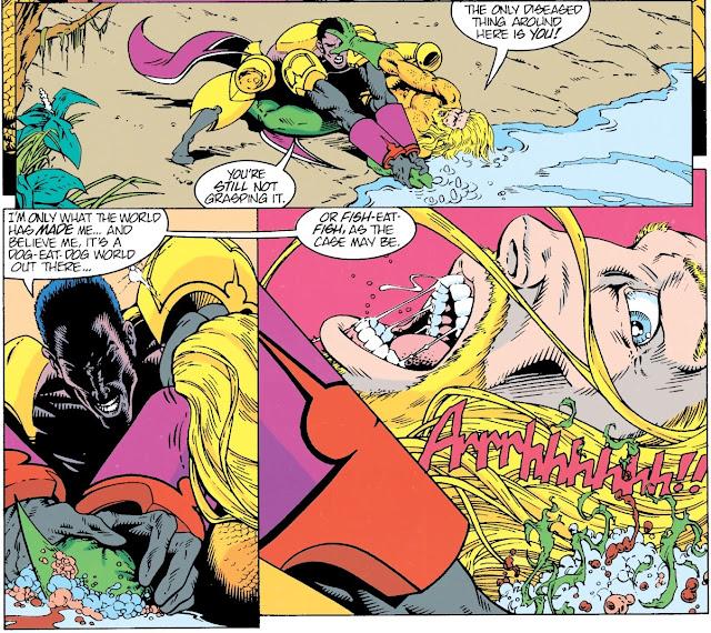 Review Aquaman A Celebration of 75 Years Aquaman #2 Peter David Martin Egeland DC Comics hardcover hc comic book
